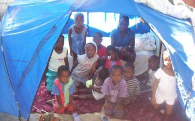 Erdbebenhilfe in Haiti