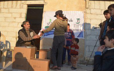 Flüchtlingshilfe in Syrien