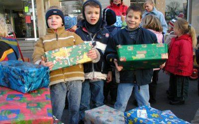 Weihnachtspäckchen Aktion