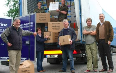 Hilfstransporte nach Bosnien und Rumänien