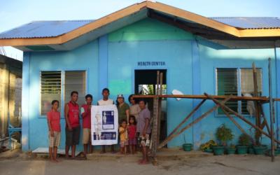 Hilfe für philippinische Familien